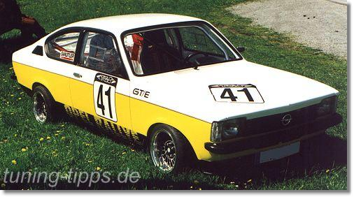 tuning tipps opel kadett c coupe. Black Bedroom Furniture Sets. Home Design Ideas