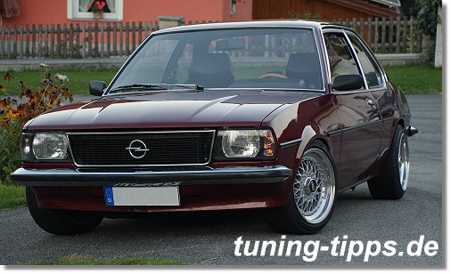 tuning tipps opel ascona b 2 0 l e mit turboumbau. Black Bedroom Furniture Sets. Home Design Ideas